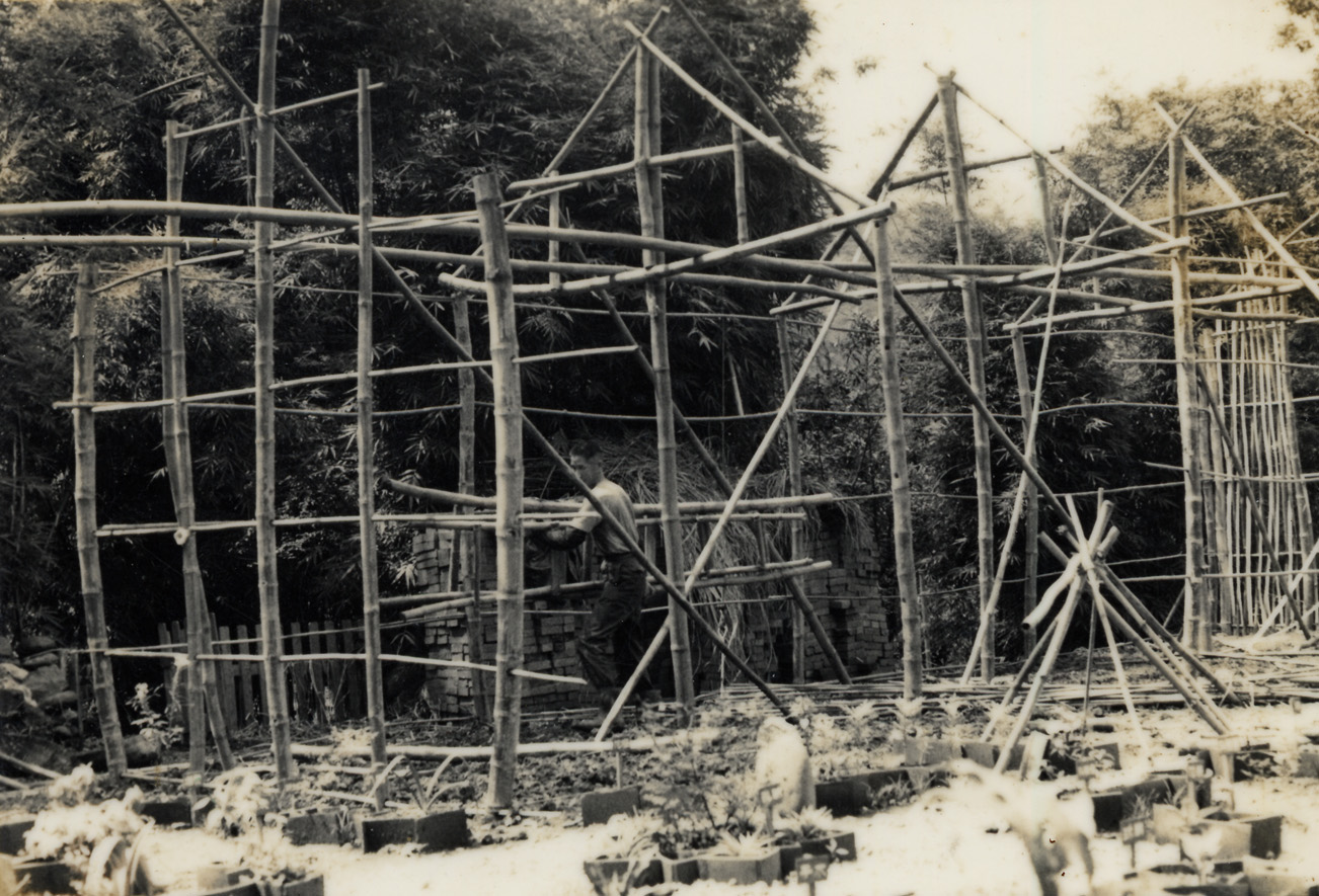 1973惠生法師蓋草寮