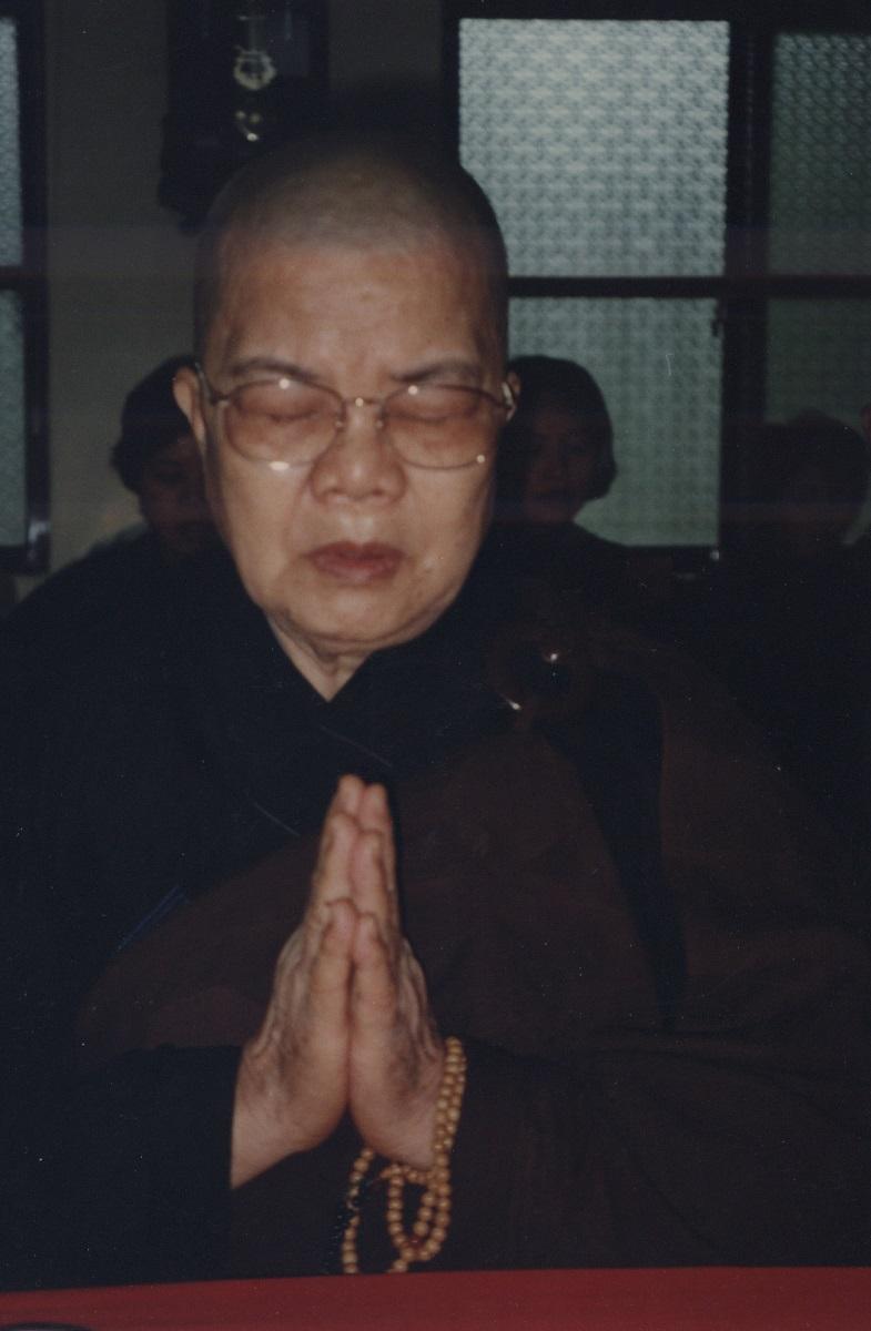 1999參加為老和尚祈福法會